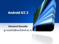Lecture 11 - Android ICC model 2