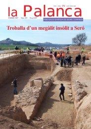 Troballa d'un megàlit insòlit a Seró - La Palanca