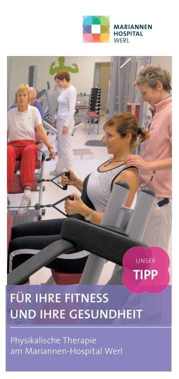 Physikalische Therapie - Mariannen-Hospital Werl
