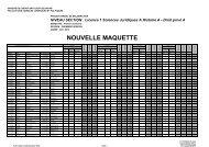 NOUVELLE MAQUETTE