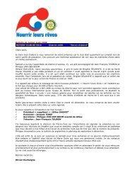 Bulletin de Juillet-Août 2008 ROTARY CLUB DE Vitré District 1650 ...