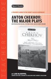 Anton Chekhov: The Major Plays - Penguin Group