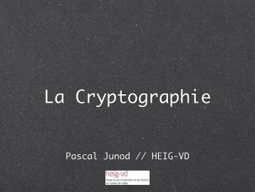 en ligne - Pascal Junod