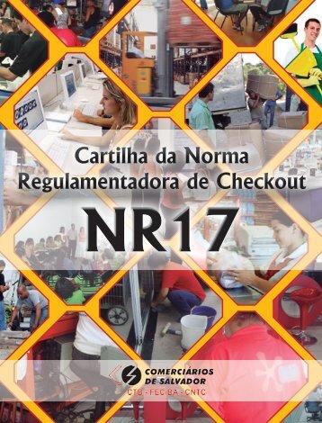 Cartilha da Norma Regulamentadora de Checkout - Sindicato dos ...