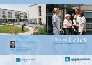 Mitten im Leben - Marienkrankenhaus Cochem