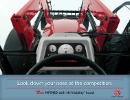 MF 5450 PDF Spec Sheet - Massey Ferguson