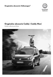 Oryginalne akcesoria Caddy i Caddy Maxi Lista ... - besmarex.com.pl