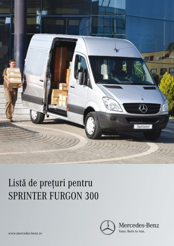 Download ofertă Sprinter 3,5t furgon (PDF) - Mercedes-Benz România