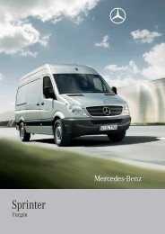 Sprinter - Mercedes-Benz España