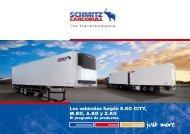 Los vehículos furgón S.KO CITY, M.KO, A.KO y Z.KO - Schmitz ...