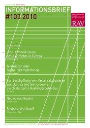 RAV INfobRIef