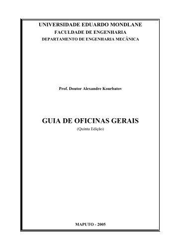1. Alexandre P. Kourbatov. Guia de Oficinas Gerais. Quinta edição ...