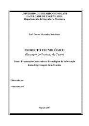 8. Alexandre P. Kourbatov. Projecto Tecnológico. Exemplo do ...
