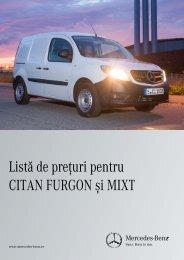 Download Listă de preţ Citan Furgon - Mercedes-Benz România