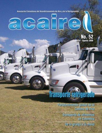 Transporte refrigerado - Acaire