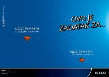Daily MY2012 - Cro - Iveco