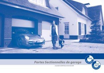2102 manuel d 39 utilisation portes sectionnelles villa for Porte de garage la toulousaine villa