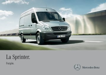 La Sprinter. - Mercedes-Benz México