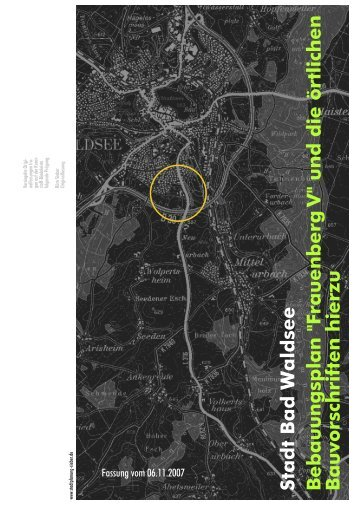 2007-11-06 Text BP Frauenberg V NEU