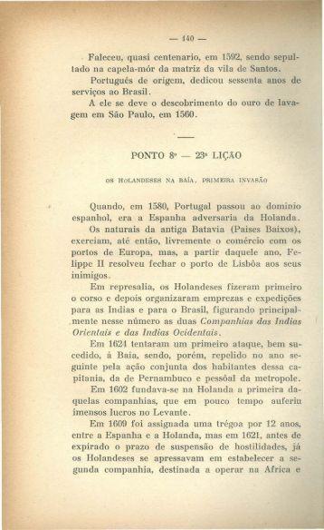 Os Holandeses na Bahia. Primeira Invasão, por Max Fleiuss.