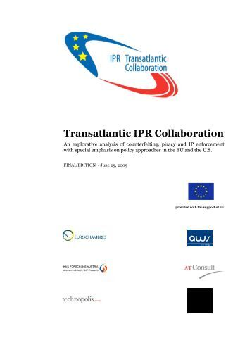 Final Report about the Transatlantic IPR Collaboration - APM