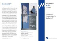 Programm 2011 - Marketing-Club Bremen eV
