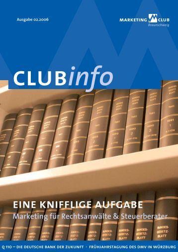 eine kniff lige aufgabe - Marketing-Club Braunschweig