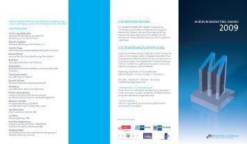 Download Ausschreibung - Marketing Club Berlin