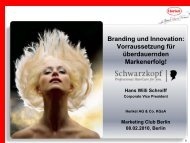 Branding Und Innovation - Marketing Club Berlin