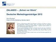 Einführung - Marketing Club Nürnberg