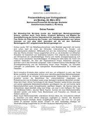 Pressemitteilung zum Vortragsabend am Montag, 26. März 2012 ...