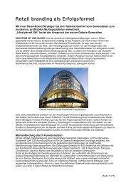 Galeria Kaufhof 2.0 - Marketing Club Nürnberg