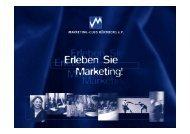 Einführung in das Thema Marke - Marketing Club Nürnberg