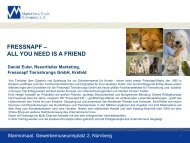fressnapf – all you need is a friend - Marketing Club Nürnberg