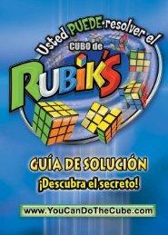 CONOZCA SU CUBO - You CAN Do the Rubik's Cube!