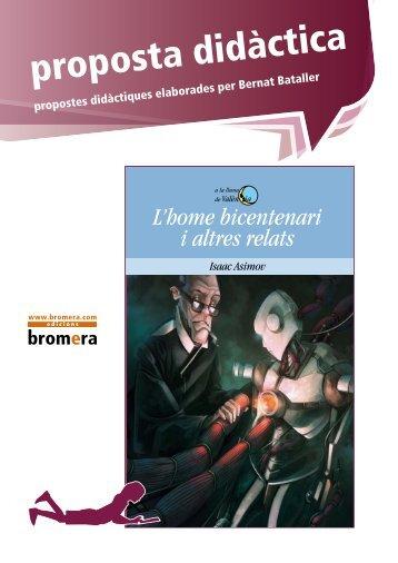 proposta didàctica - Edicions bromera