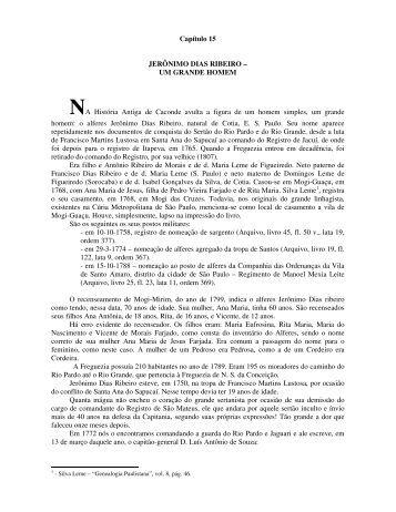 Capítulo15 - Basílica Santuário Nossa Senhora da Conceição em ...