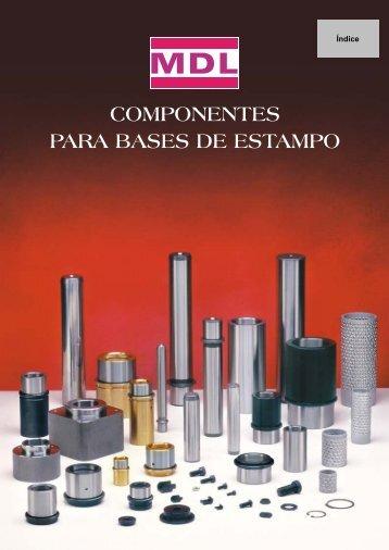 COMPONENTES PARA BASES DE ESTAMPO - mdl-danly