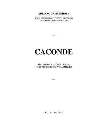 """Livro: """"Caconde"""" - Adriano Campanhole - Basílica Santuário Nossa ..."""