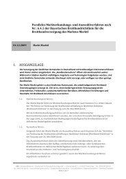 Markterkundungs- und Auswahlverfahren - Markt Marktl