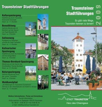Traunsteiner Stadtführungen - Markt Marktl