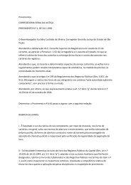 Provimentos. CORREGEDORIA GERAL DA JUSTIÇA. Provimento n.1