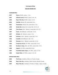 1/9 Curriculum Vitae NELSON HENRICKS