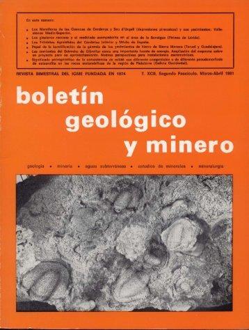 Valle 'Urgell [depresiones pirenaicas) y sus yacimientos; - Instituto ...
