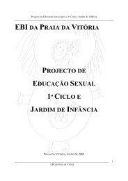 Projecto Educação Sexual 1º ciclo e Jardim de Infância