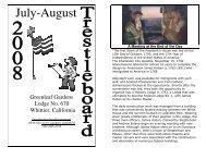 July-August - Greenleaf Gardens Lodge