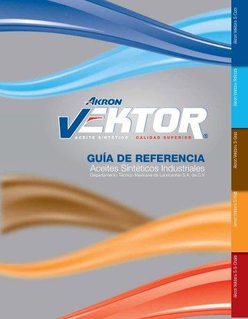 Catálogo Aceites Sintéticos VEKTOR