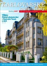 radniční listy - Magistrát města Karlovy Vary