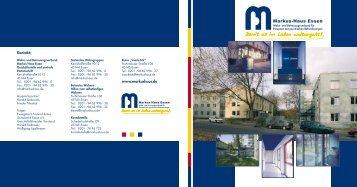 Broschüre neu.pdf - Markus-Haus Essen