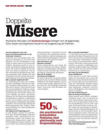 Focus Magazin Gesundheit – Psychose und Sucht - Löffelmann ...